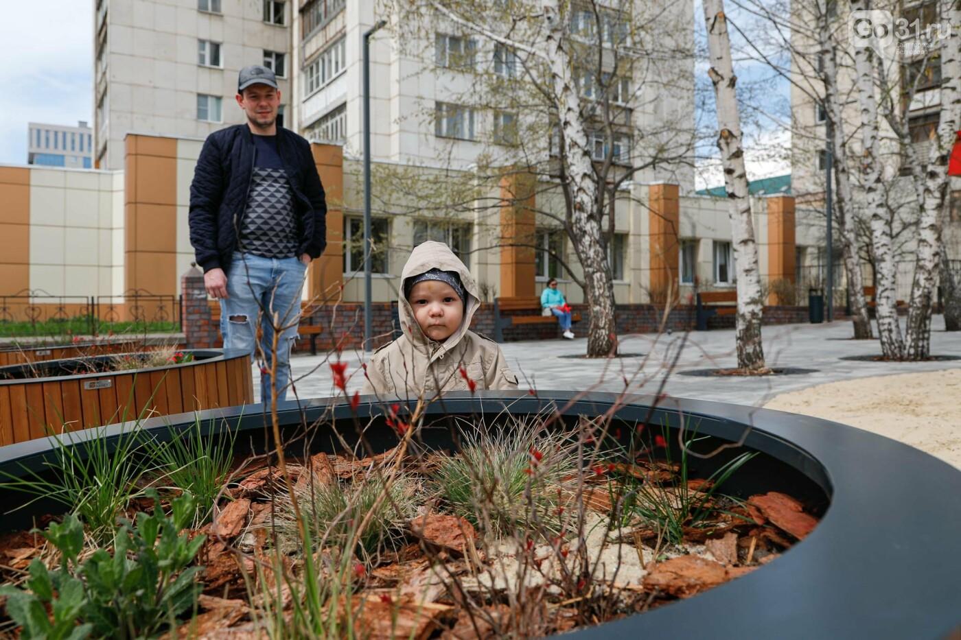 Сквер «Пятачок» в Белгороде, Фото: Антон Вергун