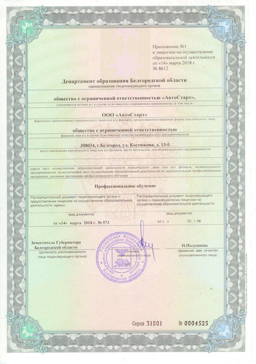 Лицензии, фото-2