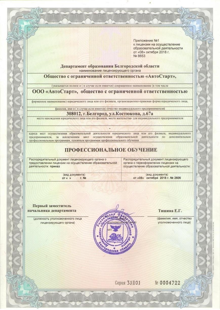 Лицензии, фото-5
