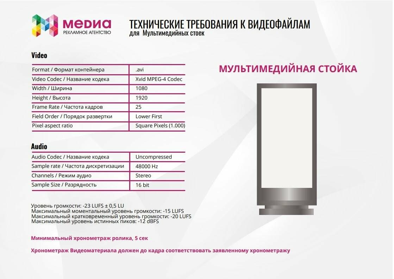 Технические требования к видеофайлам для поверхностей, фото-5