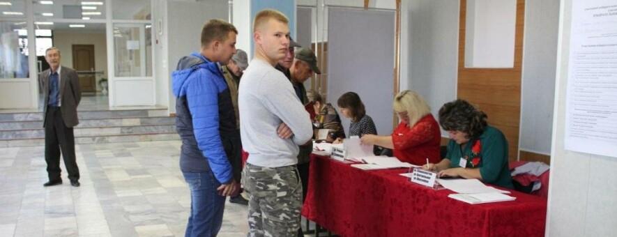 В Белгородской области к 15 часам проголосовала половина избирателей