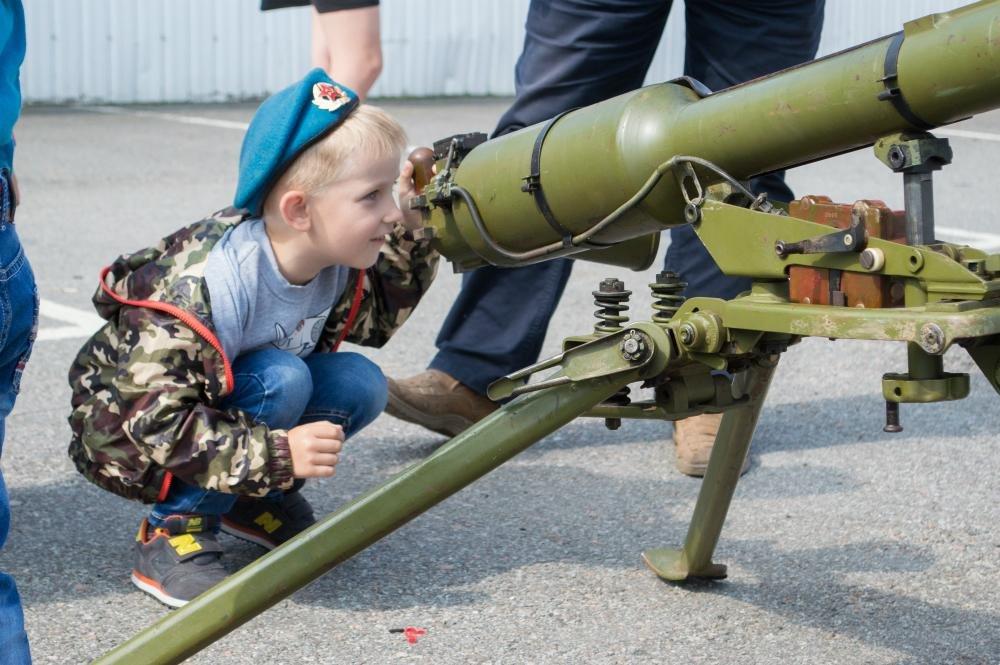 «Русские витязи» пролетели над Белгородом — фоторепортаж, фото-5