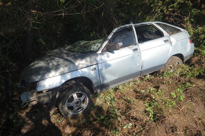 В Старом Осколе погибла пассажирка перевернувшейся иномарки, фото-3