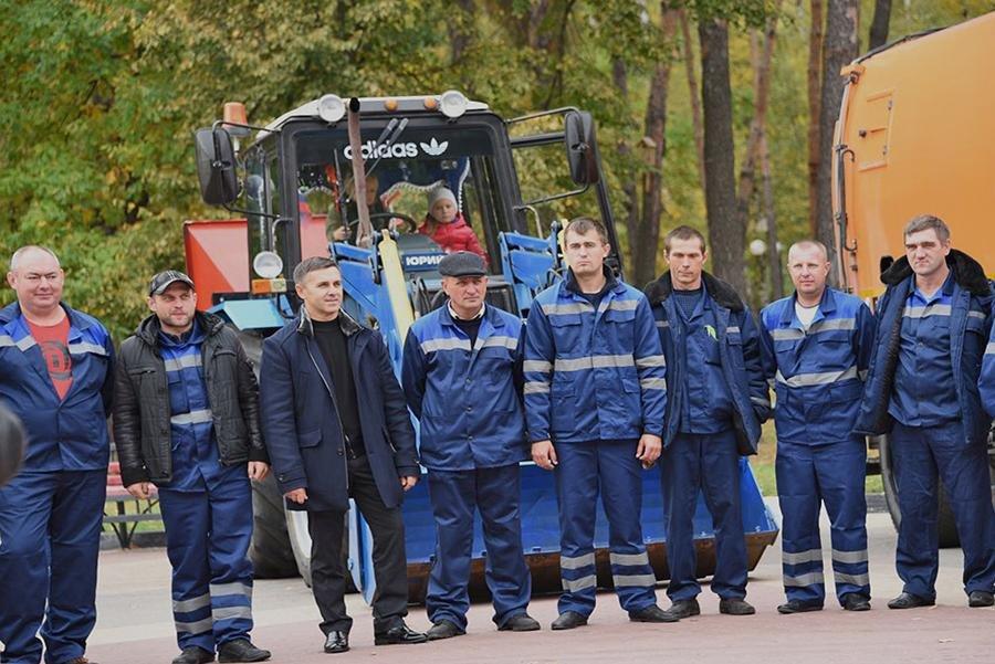 В Белгороде прошёл парад коммунальной техники, фото-3