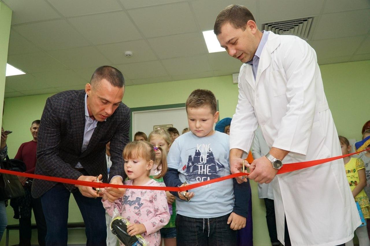 Профсоюз «Правда» подарил новый зал лечебной физкультуры пациентам детской областной клинической больницы, фото-1