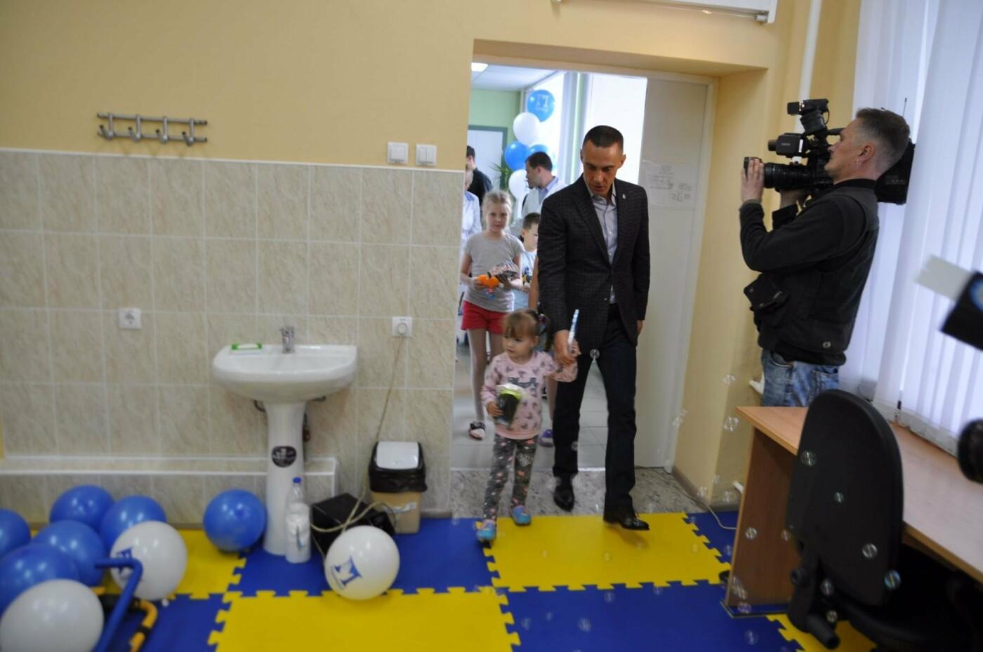 Профсоюз «Правда» подарил новый зал лечебной физкультуры пациентам детской областной клинической больницы, фото-4