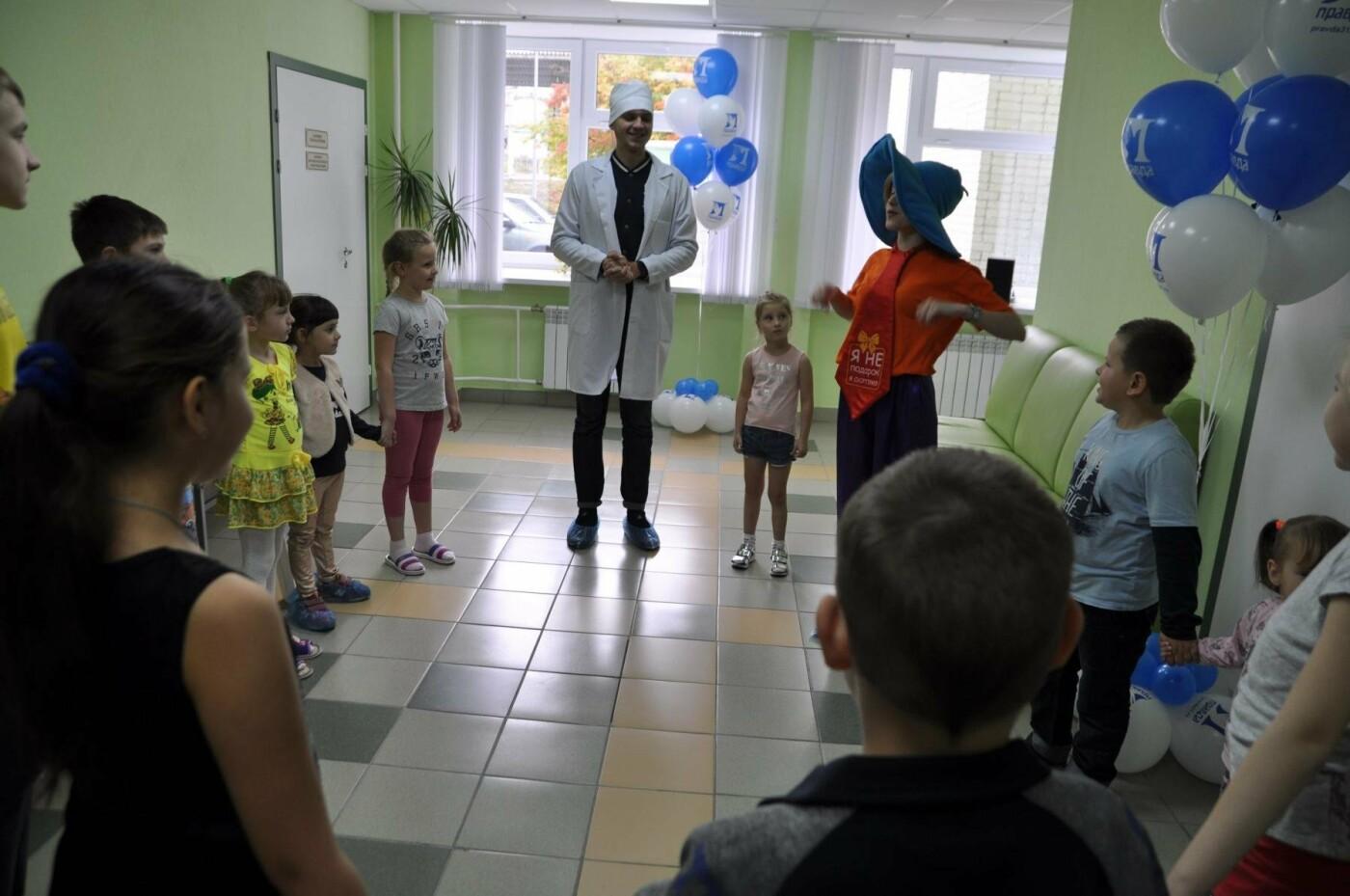 Профсоюз «Правда» подарил новый зал лечебной физкультуры пациентам детской областной клинической больницы, фото-6