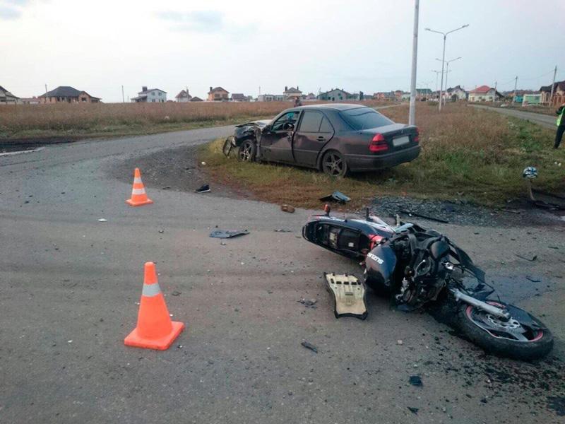 Против белгородского мотоциклиста завели уголовное дело за смерть пассажира, фото-1