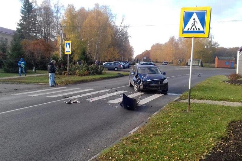 В ДТП на белгородской трассе пострадали двое несовершеннолетних, фото-1