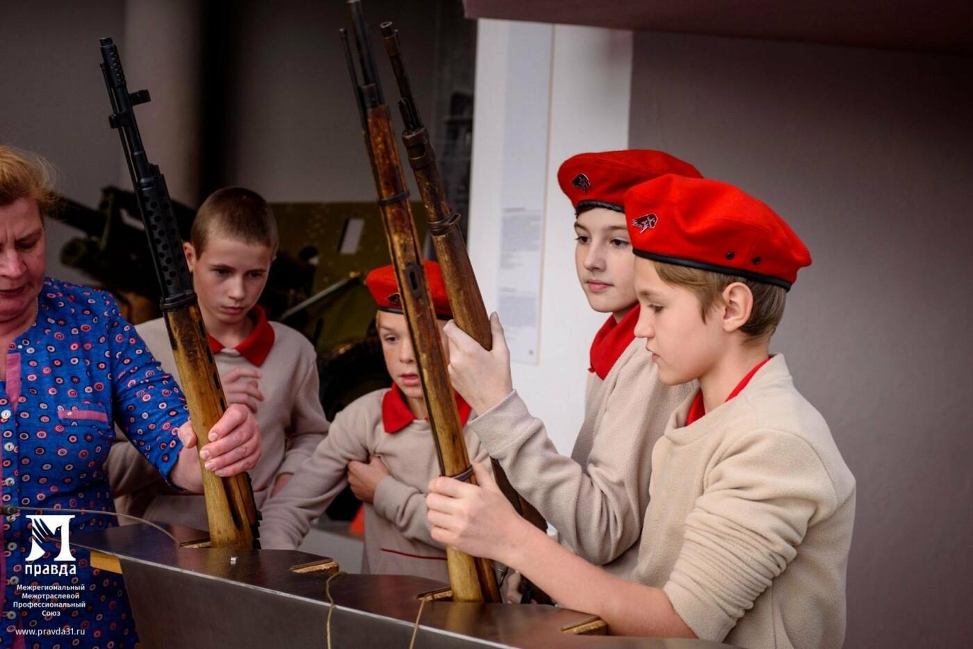 Поколение патриотов: юнармейцы благодаря профсоюзу «Правда» узнали больше о танковом сражении 1943 года, фото-6