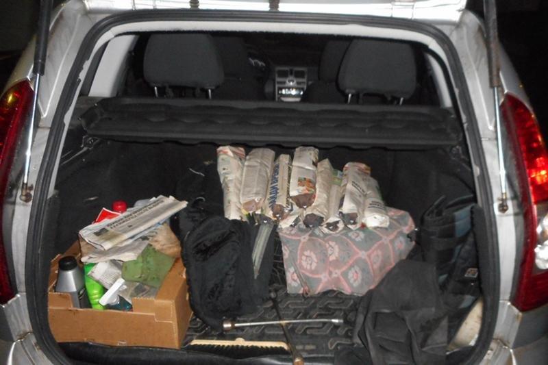 Голубей в газетных рулонах нашли на границе под Белгородом, фото-1