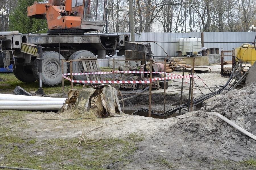 Белгородский парк Победы спасают от подтоплений, фото-2