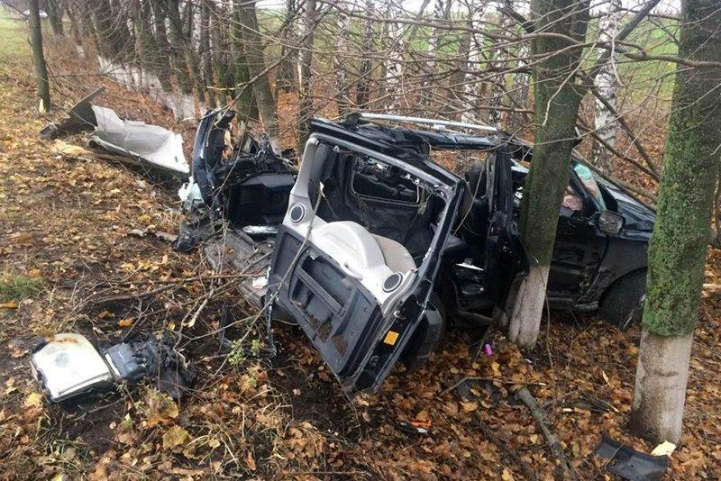 Под Белгородом погиб водитель вылетевшего в кювет внедорожника, фото-1