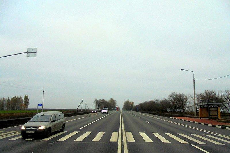 Под Белгородом отремонтировали участок федеральной трассы, фото-1