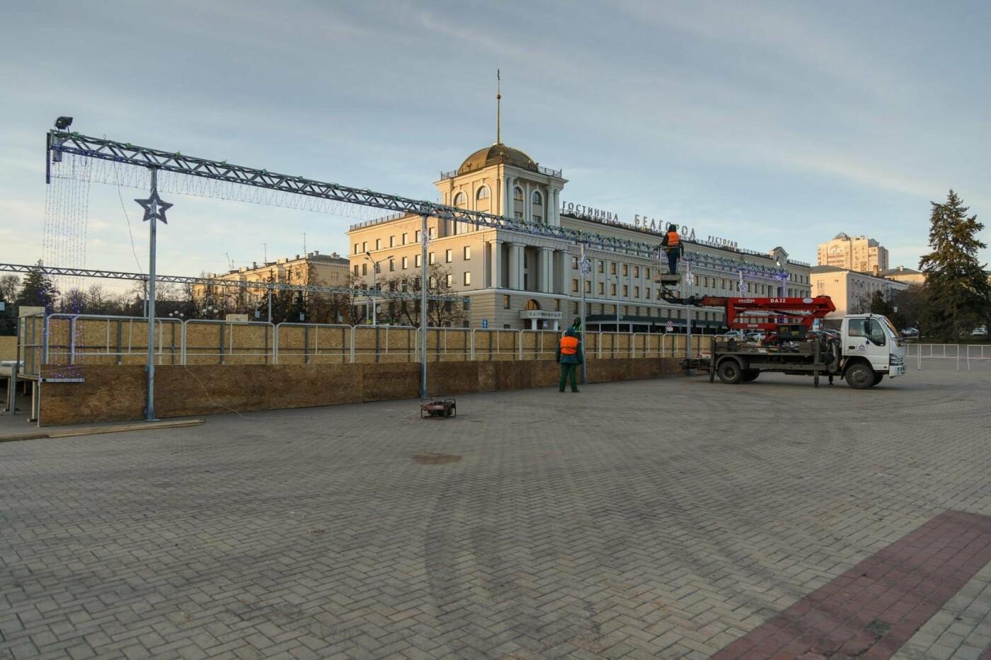 В соцсетях сообщили об установке ёлки на площади, но рабочие всё разобрали. Почему?, фото-9