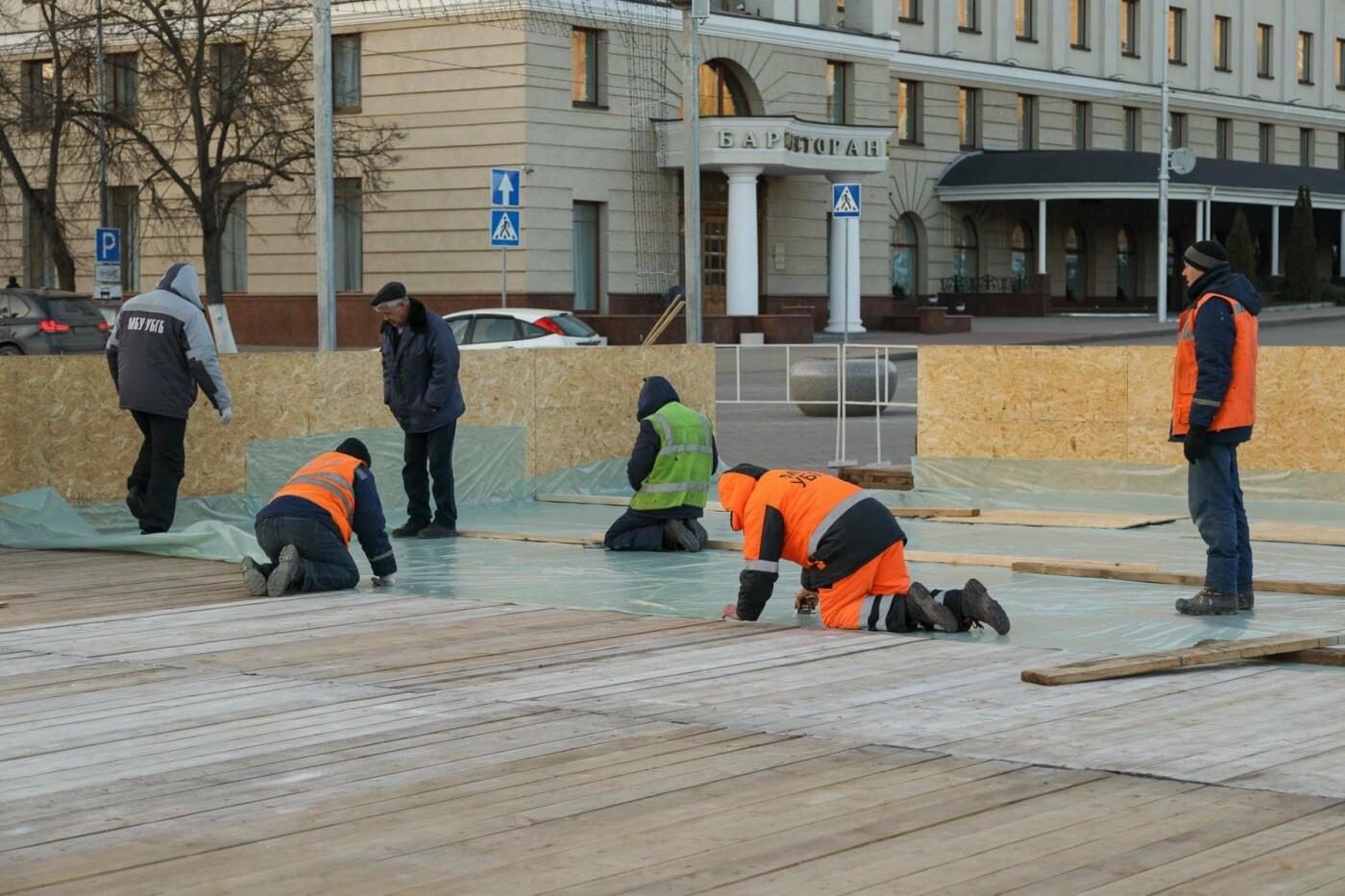 В соцсетях сообщили об установке ёлки на площади, но рабочие всё разобрали. Почему?, фото-12