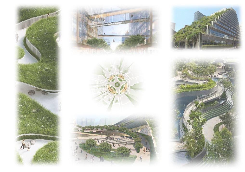 """урбанистическая концепция """"Рукотворный парк"""", разработана харьковским дизайнерским бюро """"Альберго"""""""