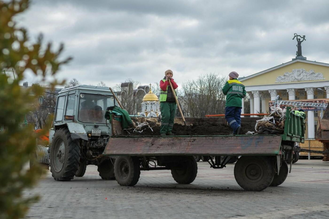 Соборную площадь продолжают готовить к Новому году (фото), фото-4
