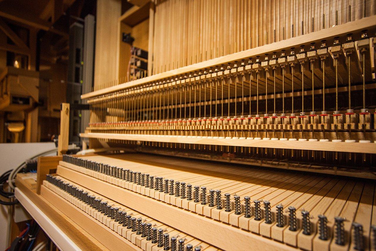Органный зал с привидениями. В Белгородской филармонии отмечают день 6-летие четырёхэтажного инструмента, фото-12