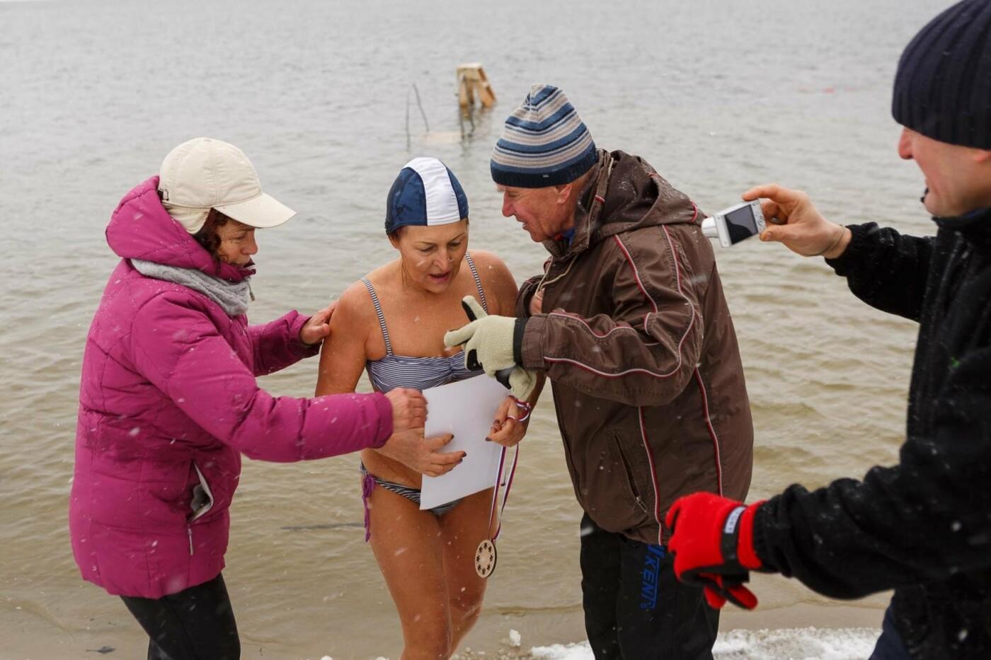 В Белгороде прошли соревнования по зимнему плаванию, фото-1