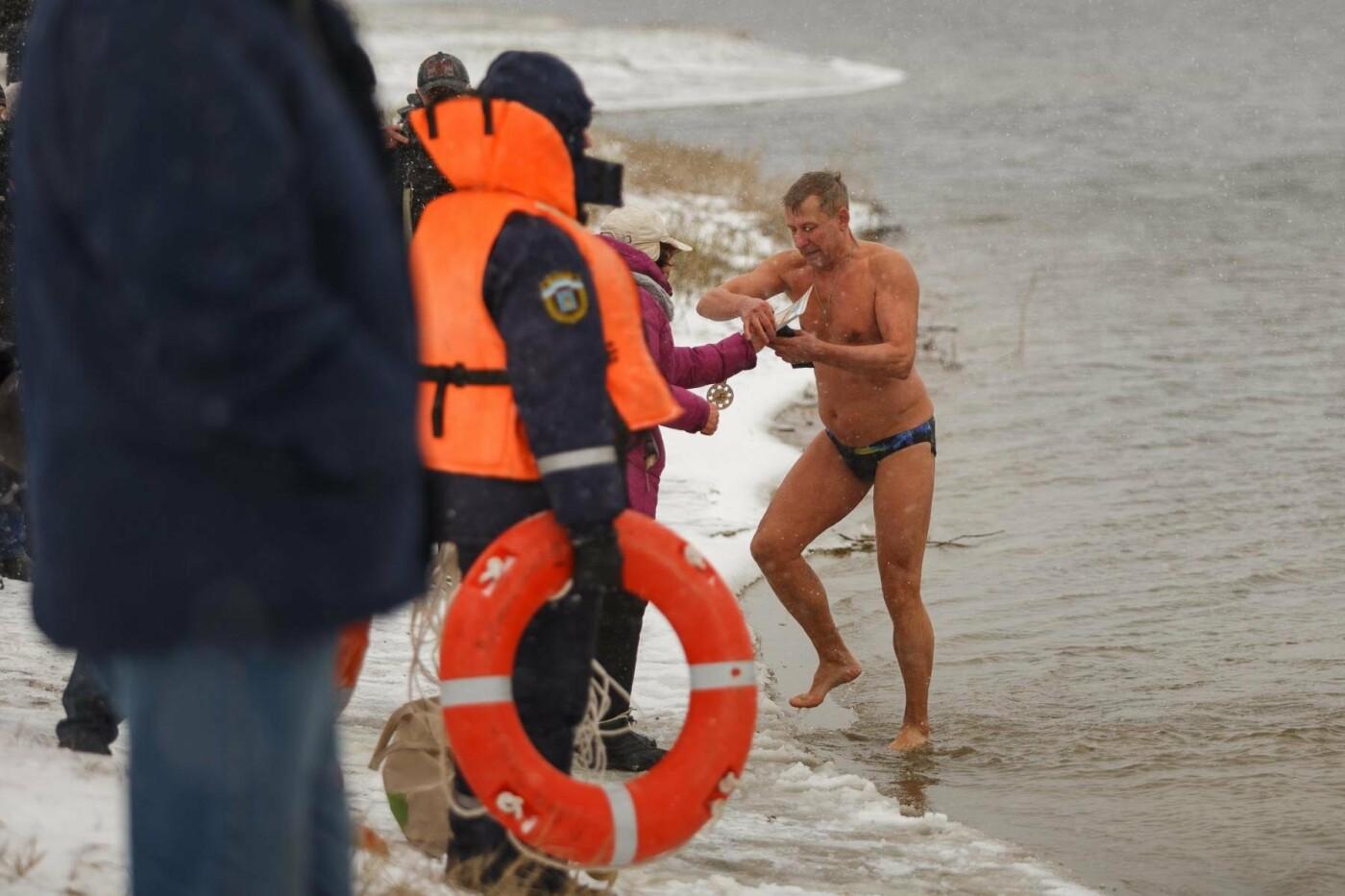 В Белгороде прошли соревнования по зимнему плаванию, фото-6