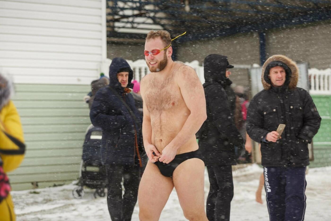В Белгороде прошли соревнования по зимнему плаванию, фото-20