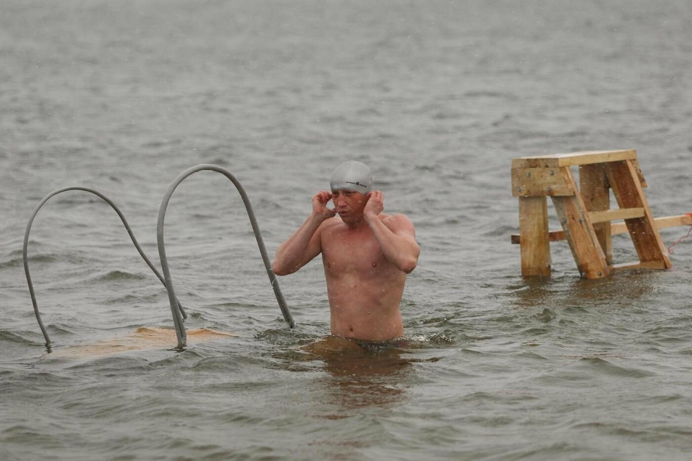 В Белгороде прошли соревнования по зимнему плаванию, фото-16
