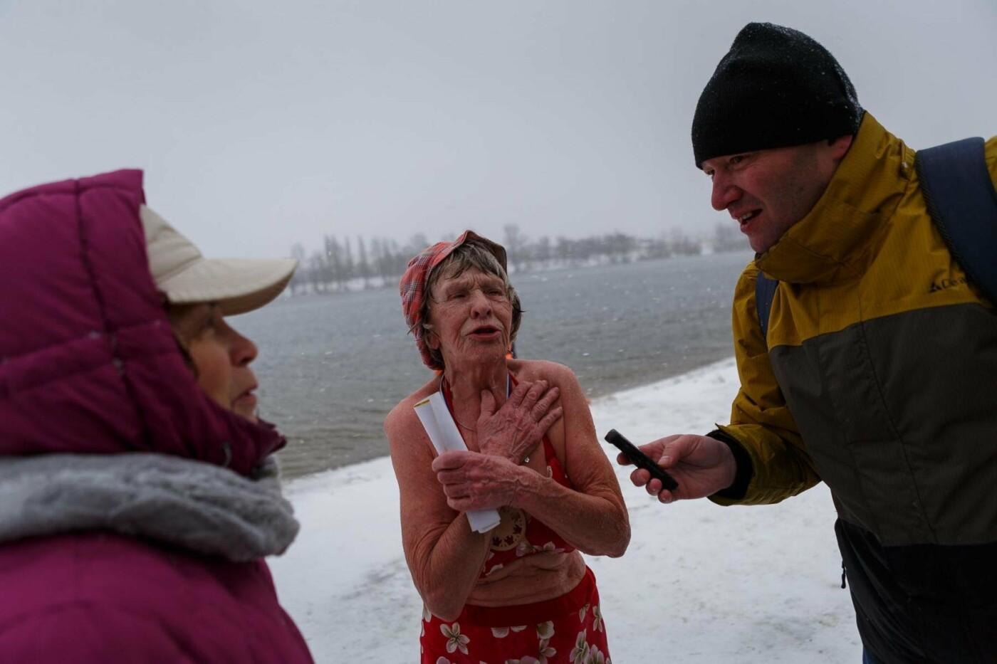 В Белгороде прошли соревнования по зимнему плаванию, фото-15