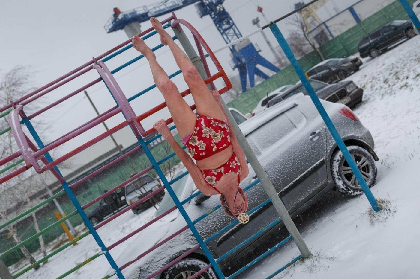 В Белгороде прошли соревнования по зимнему плаванию, фото-33