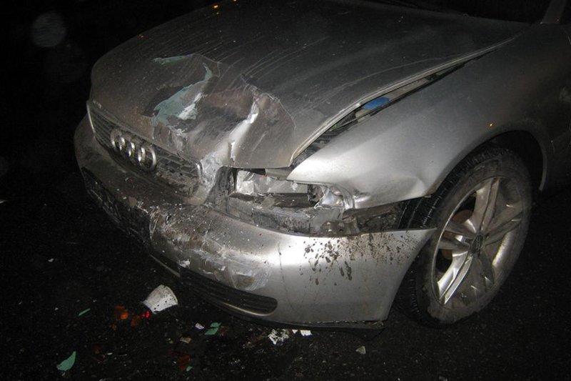 В Белгороде пьяный водитель «Ауди» устроил аварию с ВАЗом  , фото-1