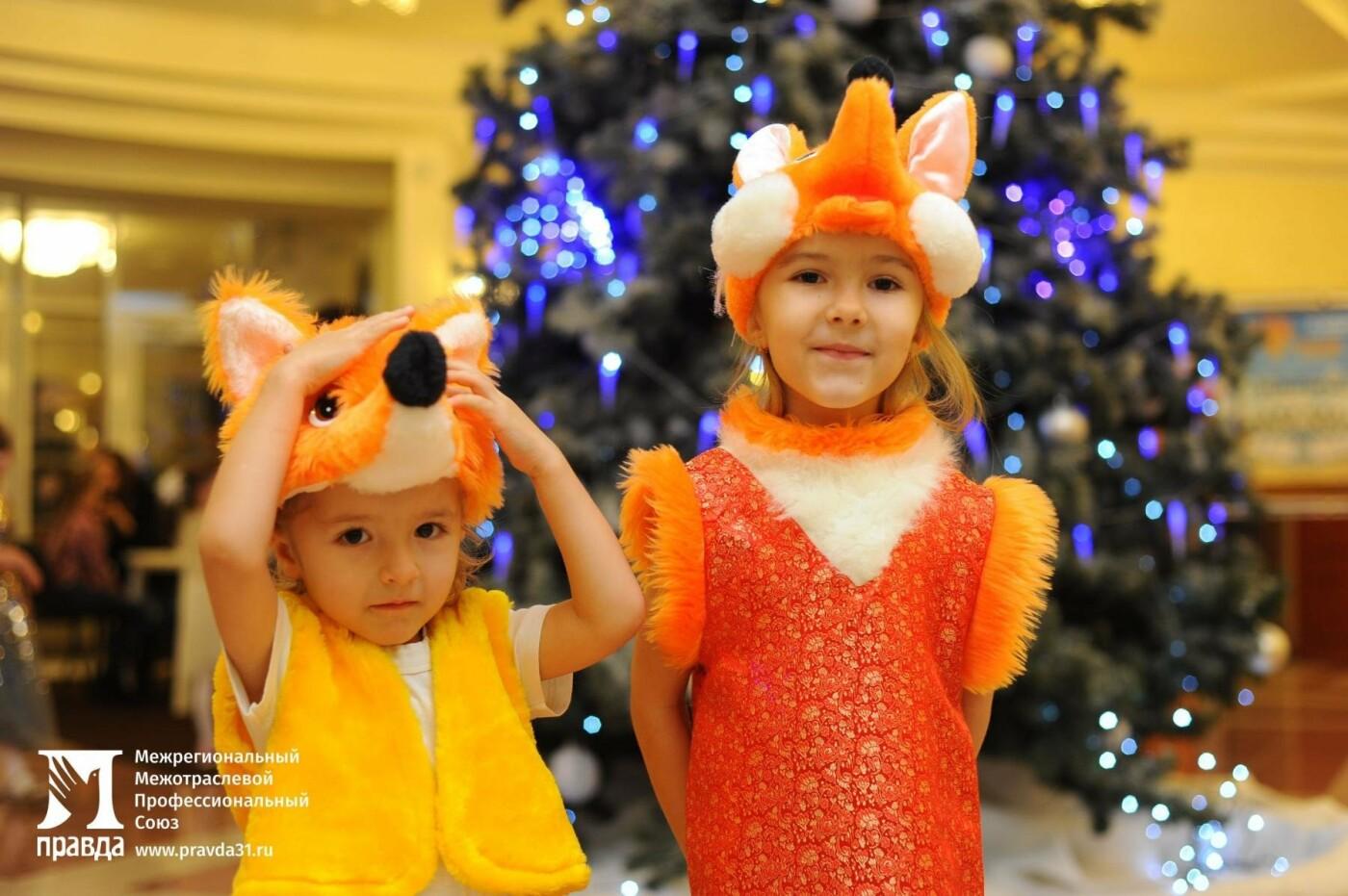 «Правда» организовала для всех детей участников профсоюза новогодние утренники в Белгородской филармонии, фото-4