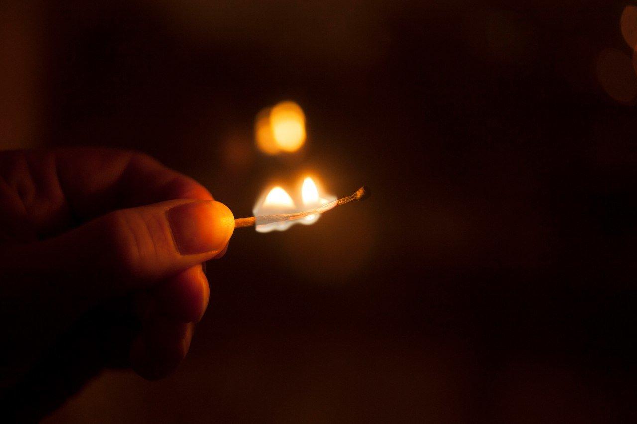 Ночью в Красной Яруге сгорела «девятка», фото-1
