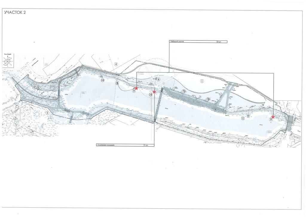 На набережной Везёлки появились рыбацкие мостики, фото-1
