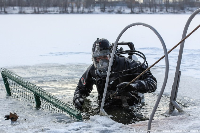 На Центральном пляже Белгорода оборудовали две купели, фото-2
