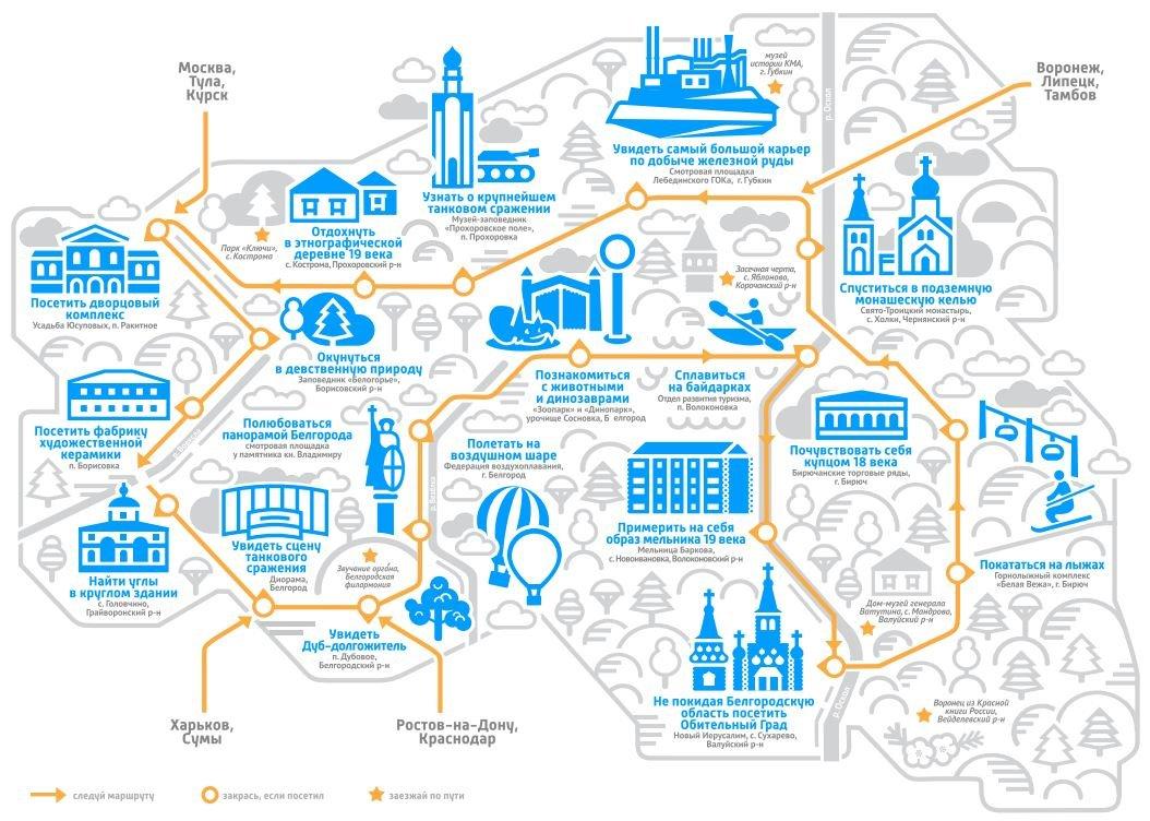 Белгородские власти создали новый маршрут для путешественников, фото-1