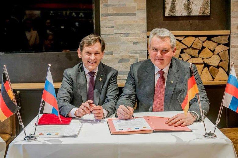 Белгород будет развивать экономические отношения с тремя иностранными городами, фото-1