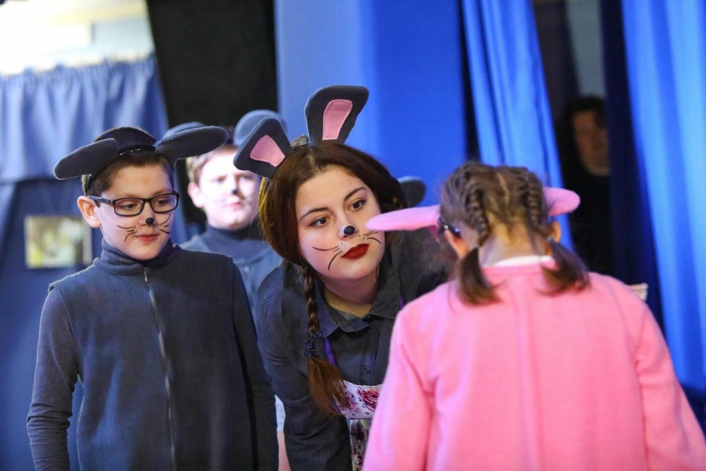 В Белгороде состоялась премьера инклюзивного спектакля «Приключения белой мышки», фото-14