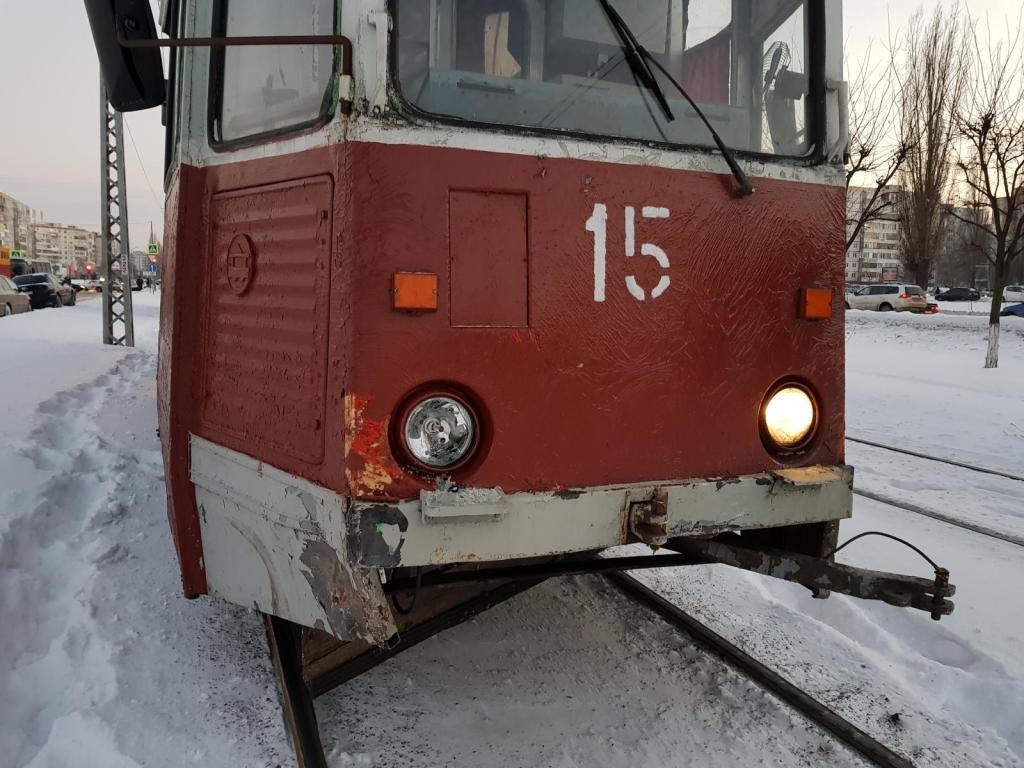 В Старом Осколе трамвай спровоцировал ДТП с двумя машинами, фото-1