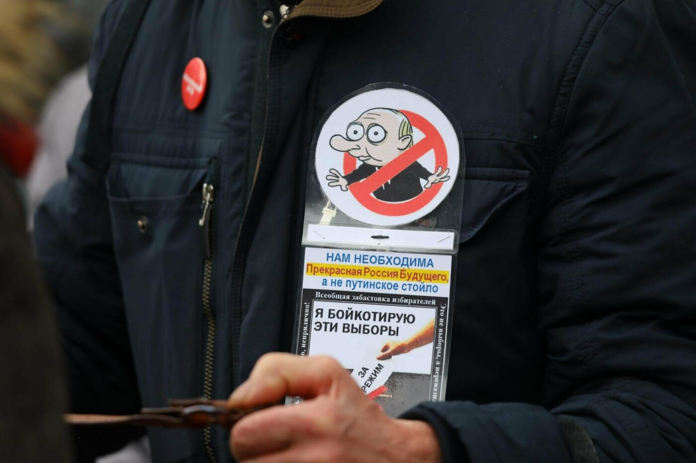 В Белгороде у Дома офицеров прошла «забастовка избирателей» — фоторепортаж, фото-22