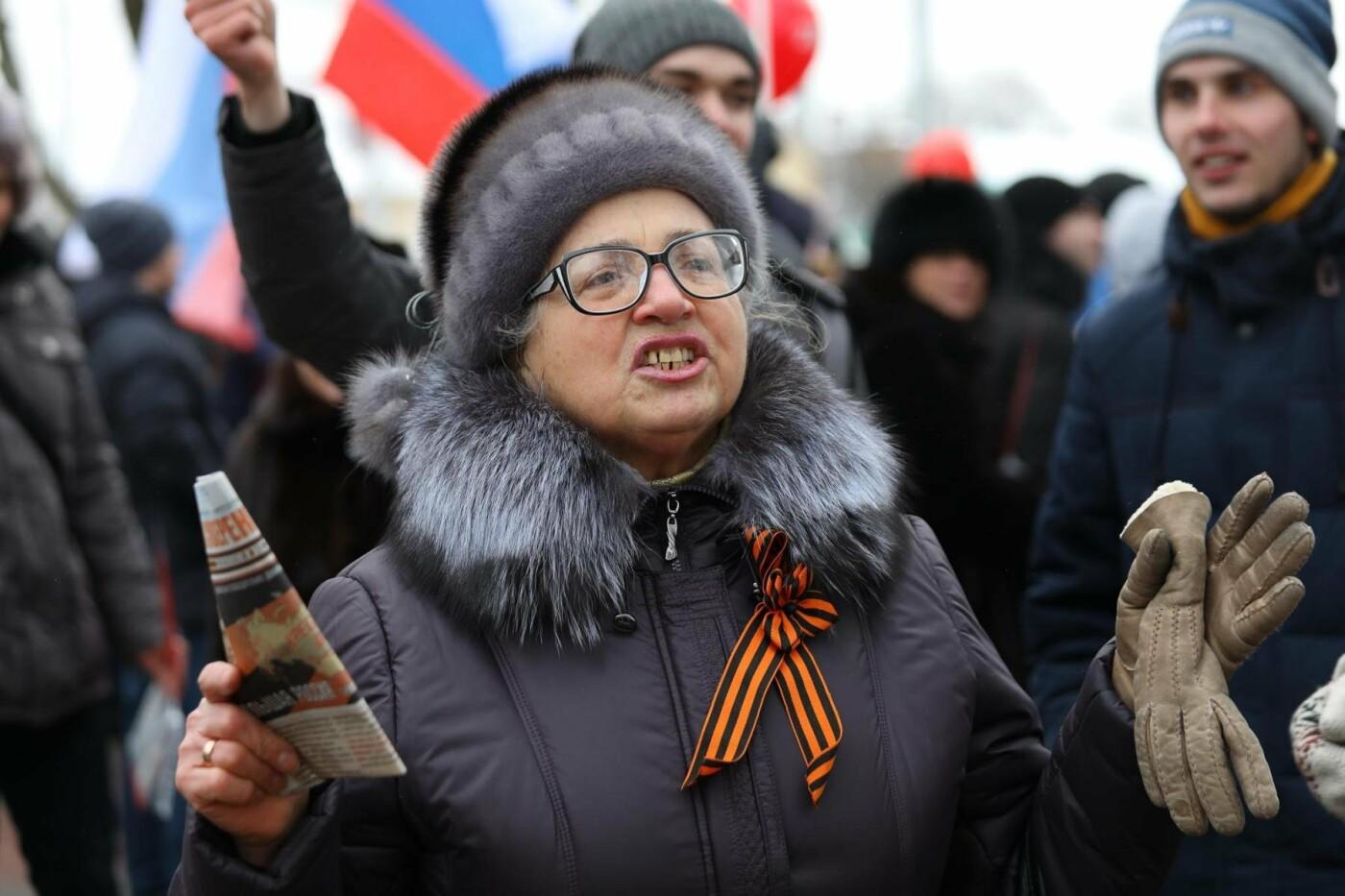 В Белгороде у Дома офицеров прошла «забастовка избирателей» — фоторепортаж, фото-42