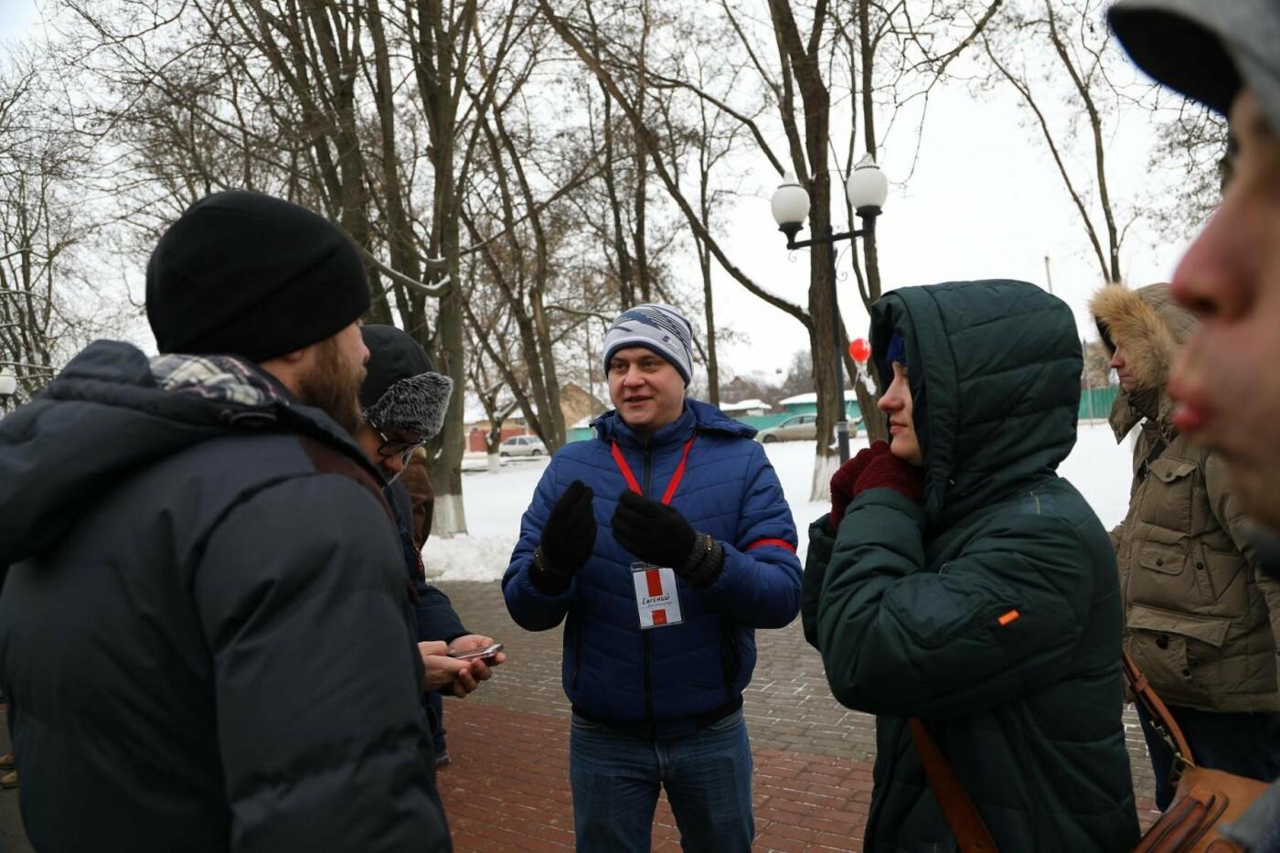 В Белгороде у Дома офицеров прошла «забастовка избирателей» — фоторепортаж, фото-8