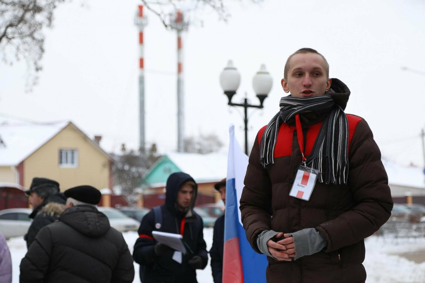 В Белгороде у Дома офицеров прошла «забастовка избирателей» — фоторепортаж, фото-19