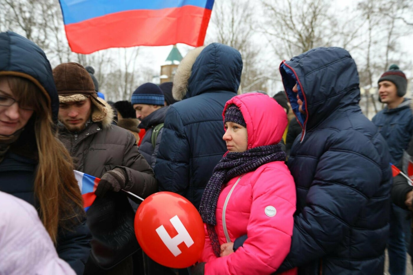 В Белгороде у Дома офицеров прошла «забастовка избирателей» — фоторепортаж, фото-33