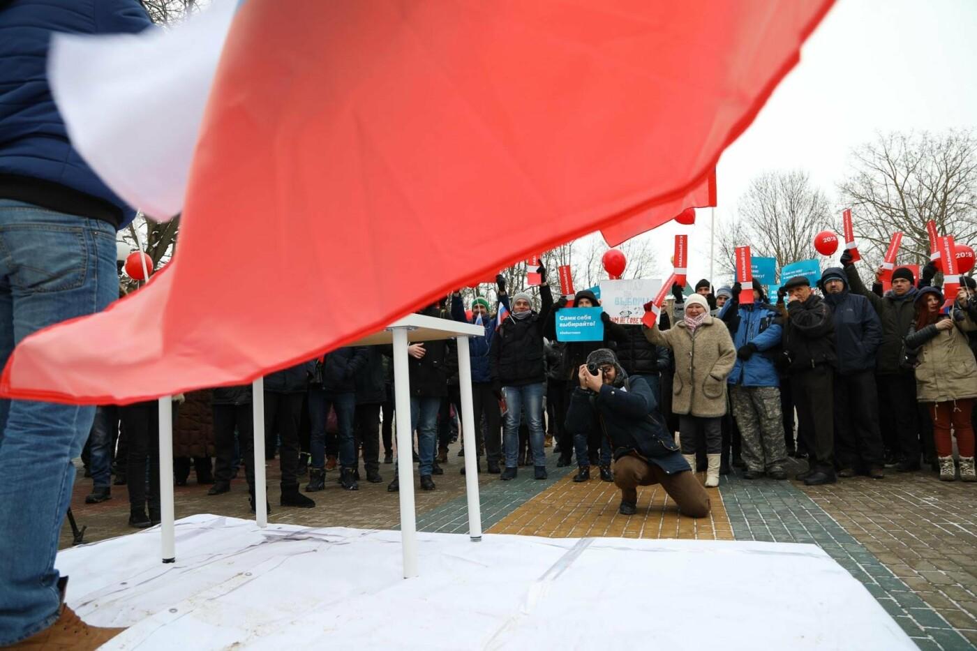 В Белгороде у Дома офицеров прошла «забастовка избирателей» — фоторепортаж, фото-4