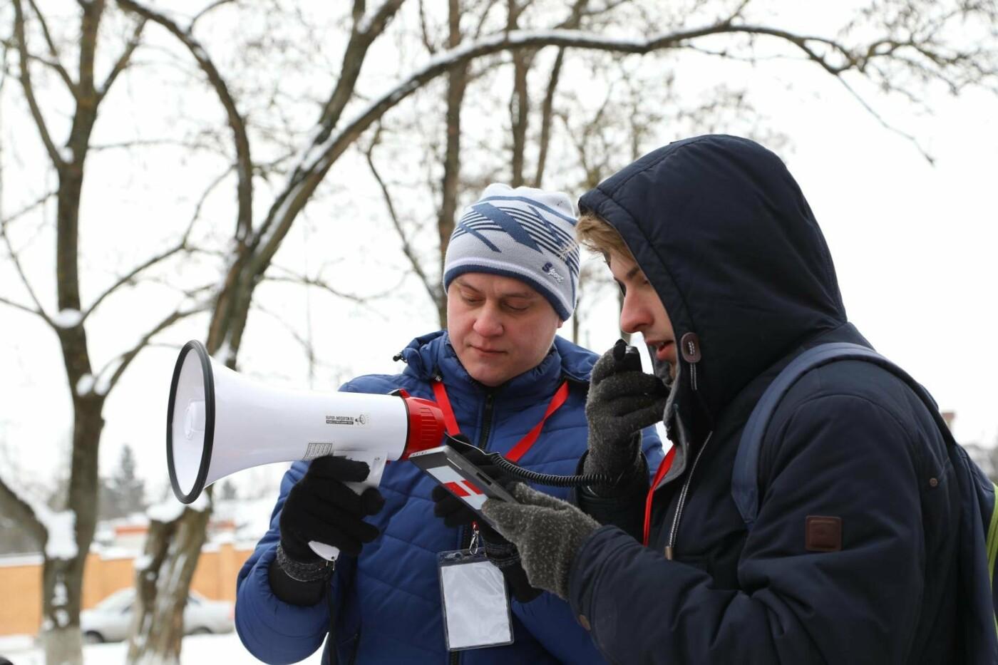 В Белгороде у Дома офицеров прошла «забастовка избирателей» — фоторепортаж, фото-40