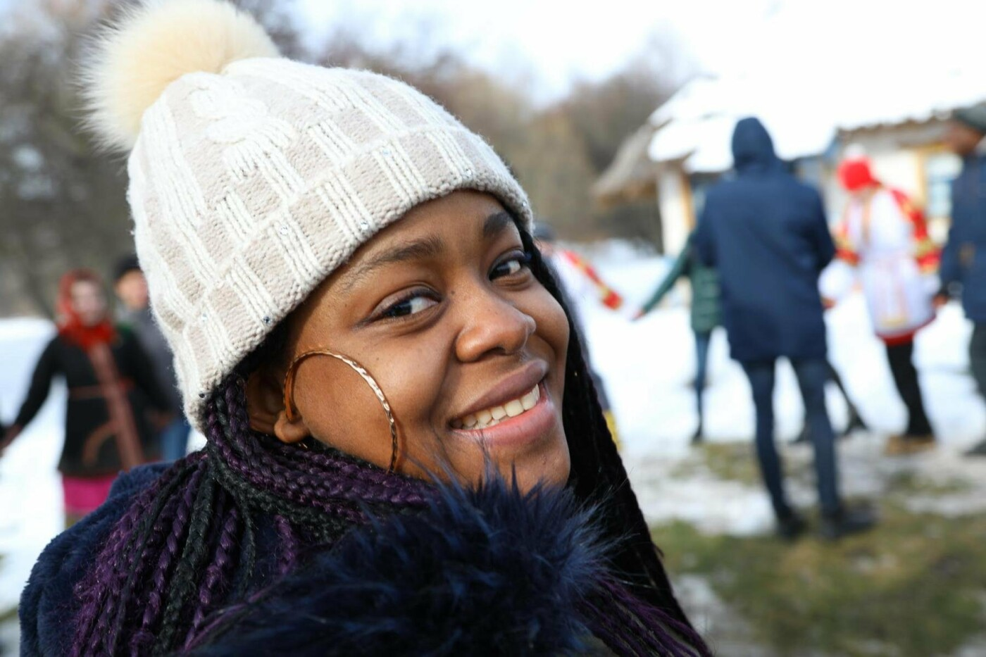 В Белгородской области в третий раз провели фестиваль «Маланья зимняя» — фоторепортаж, фото-4