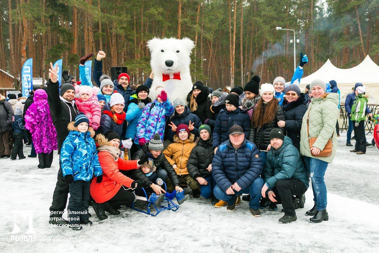 «Снова почувствовали себя детьми». Что говорили белгородцы о «Зимних забавах» от профсоюза «Правда», фото-9
