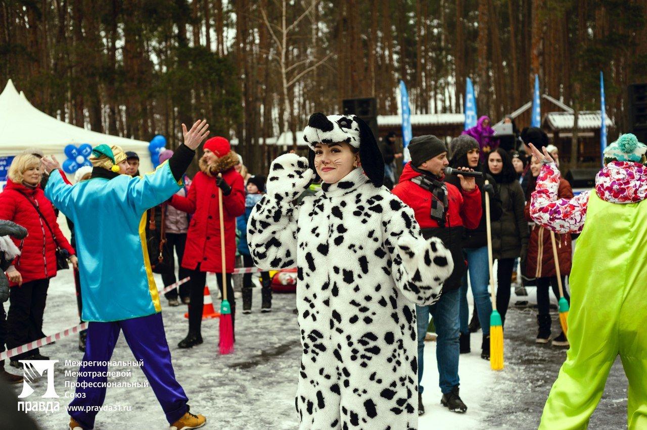 «Снова почувствовали себя детьми». Что говорили белгородцы о «Зимних забавах» от профсоюза «Правда», фото-8