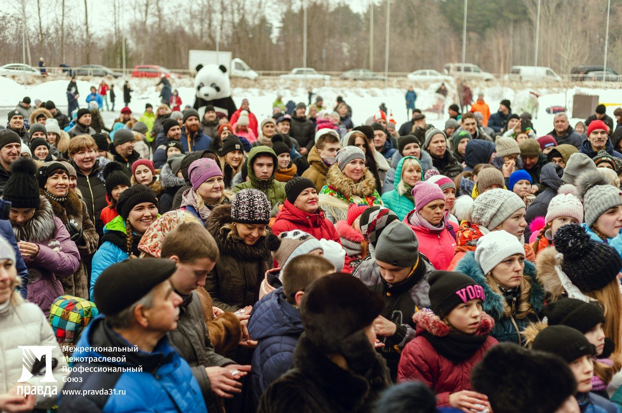 «Снова почувствовали себя детьми». Что говорили белгородцы о «Зимних забавах» от профсоюза «Правда», фото-6