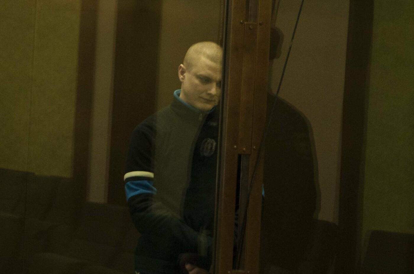 Михаил Саплинов на оглашении приговора - Фото Марии Литвиновой